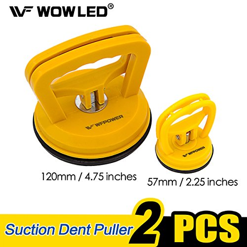 WFPOWER Set of 475 225 Dent Puller Bodywork Panel Remover Tool Suction Cup Handle Glass Repair Kit for Truck Car Van Phone Screen