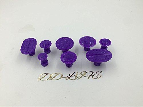 Dent Removal Glue Tabs Gliston 10pcs Dent Repair Glue Tabs Paintless Mobile Dent Remover Tools for Car Dent Devils Damage 8 PCS
