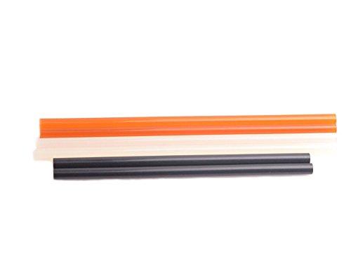 HIYI Car PDR Paintless Dent Repair Hot Melt Glue Sticks Repair Dent Remover Tool -6Pack black&yelow&white