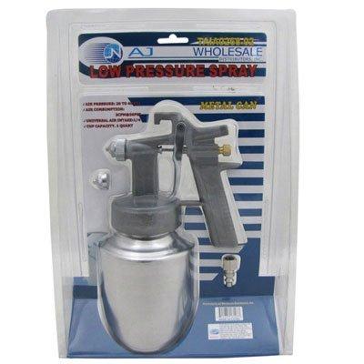 Paint Gun LVLP Low Volume Low Pressure Paint Spray Gun with Quick Release Metal Gun