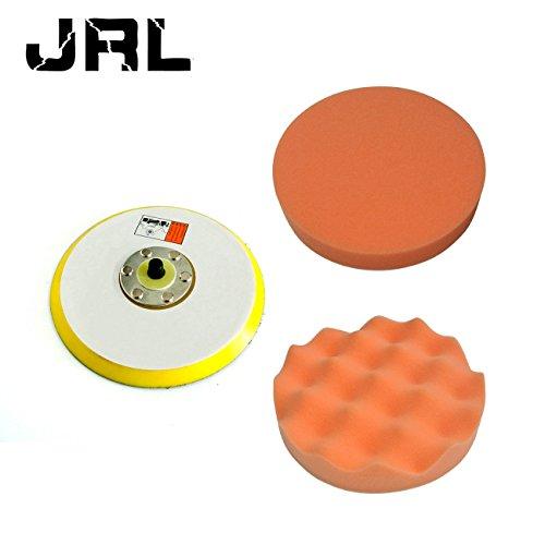 JRL 6 Dual Action Random Foam Buffing And Polishing Pad For Air Sander 12000RPM