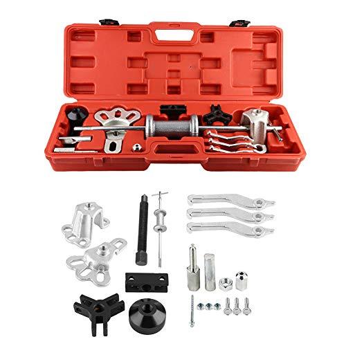Automotive Slide Hammer Puller Kit 10 Way Slide Hammer Axle Bearing Dent Hub Gear Puller Set