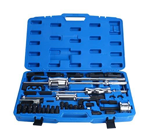 FreeTec Diesel Injector Puller Extractor Tool Slide Hammer Puller Set with Common Rail Adaptor