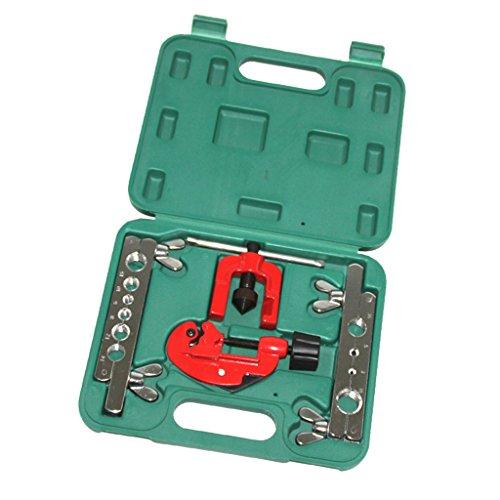 MagiDeal 3-19mm 6-15mm Pipe Brake Double Flaring Tool Set Kit Copper Tubing Brakes