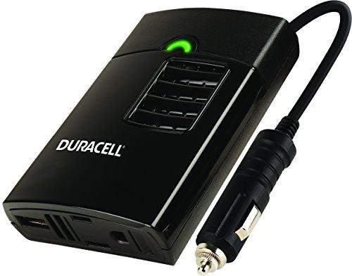 Duracell DRINVP150 Black 150 Watt Portable Power Inverter