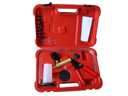 Smartbuy247 Hand Held Brake Bleeder Tester Set Bleed Kit Vacuum Pump Car Motorbike Bleeding