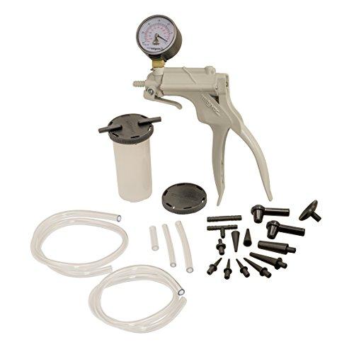 OEMTOOLS 25136 One Man Brake Bleeder Vacuum Pump Test Kit  Useful Tool for Automotive Tune-Ups Diagnosis Testing One-Man Brake Bleeding Liquid Syphoning  Hand Pump is Precise Powerful