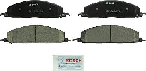 Bosch BC1400 QuietCast Premium Ceramic Disc Brake Pad Set For Dodge 2009-2010 Ram 2500 2009-2010 Ram 3500 Ram 2011-2017 2500 2011-2017 3500 Rear
