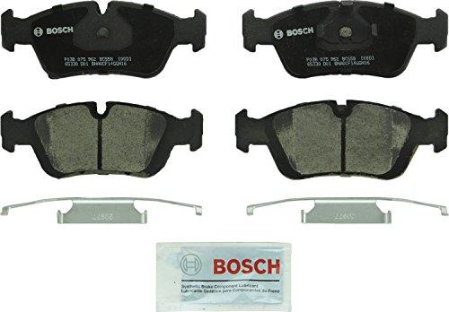 Bosch BC558 QuietCast Premium Ceramic Disc Brake Pad Set For Select BMW 318i 318is 318ti 320i 323Ci 323i 323is 323ti 325i 325is 328Ci 328i 328is 525i Z3 Front