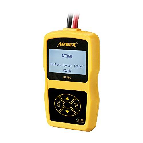 Autool BT360 Auto Battery Tester 12V Car Automotive Battery Analyzer Multi-Language Support 2000 ENCCA
