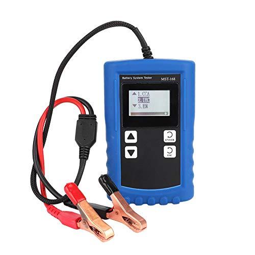 Aramox Car Battery Tester Digital Battery Tester Load Volt Charging System Tester Battery Checker Analyzer Diagnostic Tool MST-168