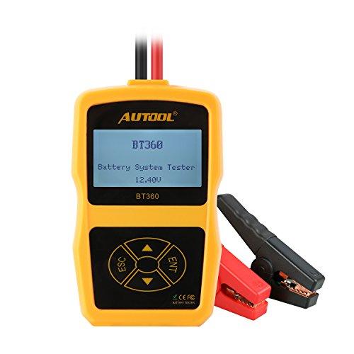 AUTOOL BT360 Battery Tester12 Volt Automotive Battery Analyzer Support ENCCA Multi-language