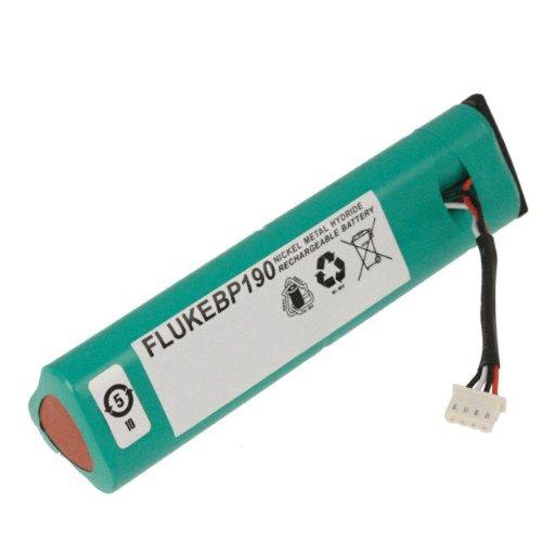 Fluke BP190 Rechargeable NiMH Battery Pack 3500 mAh Capacity 72V Voltage For ScopeMeter 190 and 190C series