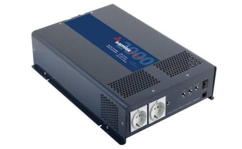 Samlex PST-200S-12E PTS Series Pure Sine Wave DC-AC Power Inverter 12 Volts 2000W Continuous Power Output 4000W Surge Power Output 230VAC Output Voltage Low battery voltage alarm