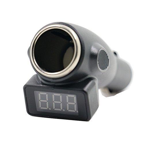 VJOYCAR C11 Car Battery Checker Cigarette Lighter Port Battery Voltage LED Display Diagnostic Tools Detector Care Analyzer