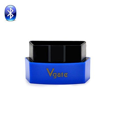 Vgate iCar3 Bluetooth New ELM327 Car Reader Scanner OBD2 EOBD Auto Scan Tool Diagnostic Bluetooth Scanners blue
