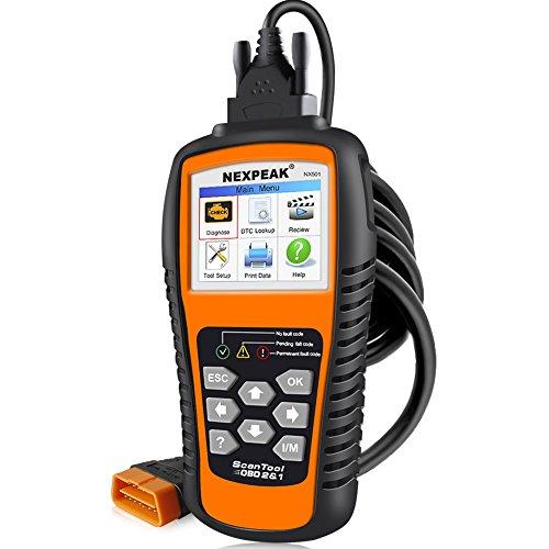 Auto OBD2 Code Readers OBDII Diagnostic Car Engine Check Scanner Tool NEXPEAK NX501