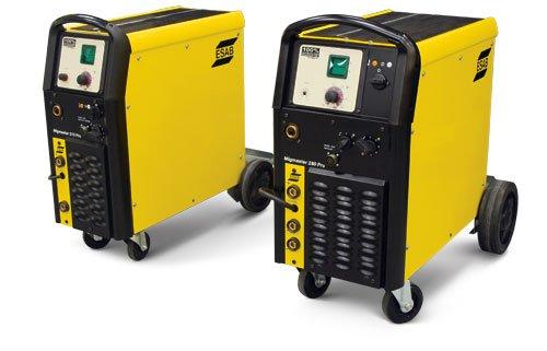 ESAB 0558101322 Migmaster 215 Pro - 15-Feet GM 250 Argon 208230vac 1PH 5060HZ Digital Meter with Hold Feature
