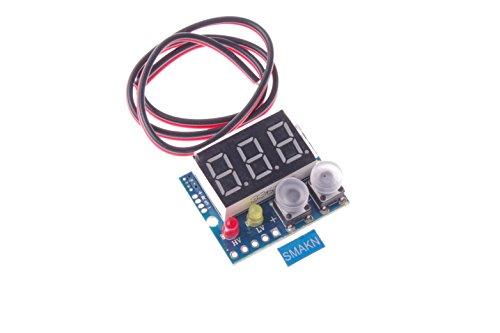 SMAKN DC-DC 036 Digital Voltmeter 100V Limit Alarm 23 Wires Universal Voltage Tester(Green
