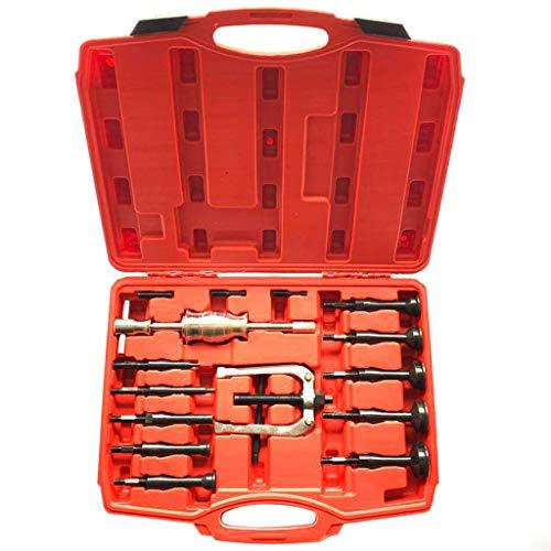 16 pcs Blind Inner Bearing Puller Hole Remover Extractor Set Slide Hammer Tool Kit
