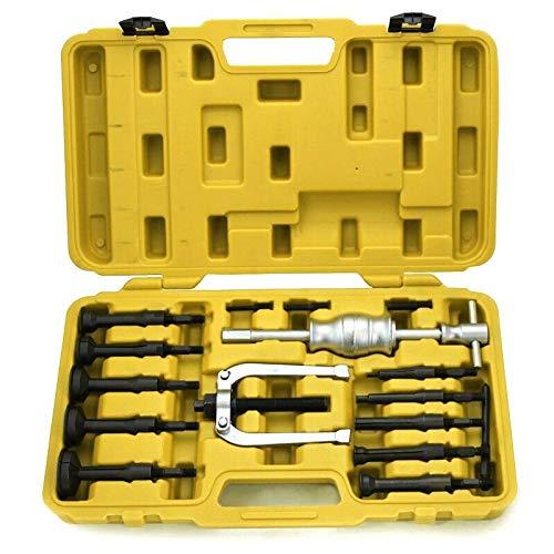 New tools Bearing Extractor Removal Bushes Slide Hammer Puller 16 PCS Blind Internal Case