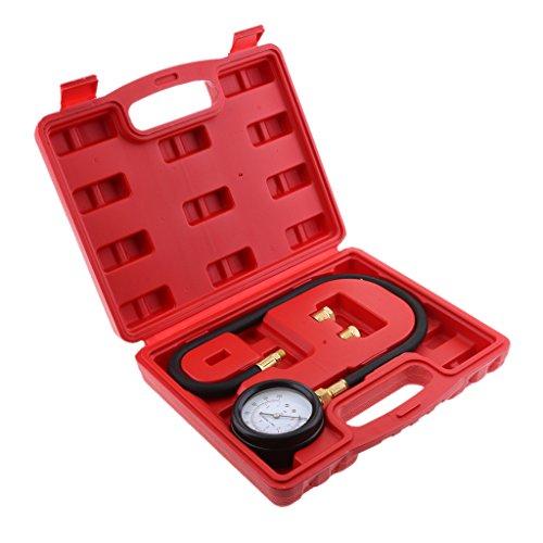 Jili Online TU-12 0-100psi Auto Engine Oil Pressure Tester Pressure Gauge Test Tool Kit Universal for Cars