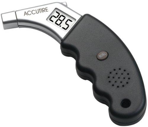 Accutire MS-4441GB Talking Digital Tire Pressure Gauge English and Spanish