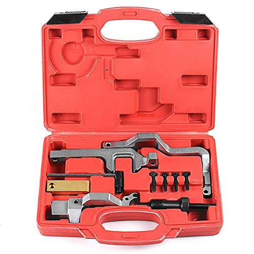 Supercrazy Engine Timing Camshaft Locking Tool Cam Alignment Kit Compatible with BMW Mini Cooper N12N14 Citroen Peugeot SF0046
