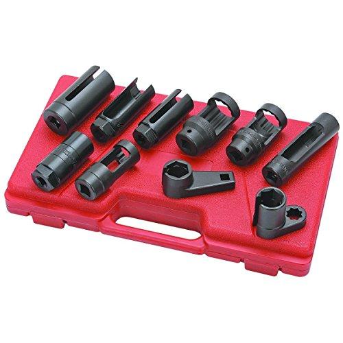 10pcs Oxygen Sensor Socket Set Sensor Oil Pressure Sending Unit Socket Set