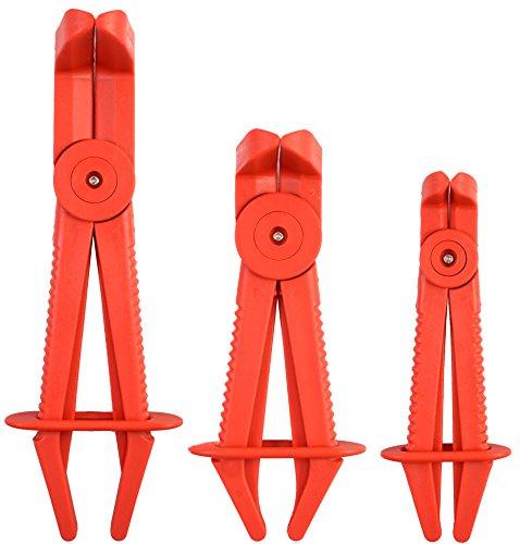 Motivx Tools 3pc Angle Jaw Hose Pinch Pliers Set