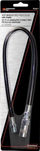 Performance Tool W54211 18 Grease Gun Flex Hose