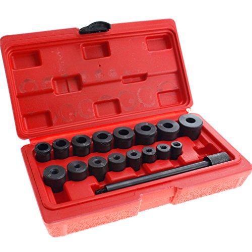 Clutch Alignment Tool Set Kit 17 Pcs Universal Auto Car Garage Clutch Alignment Setting Tool