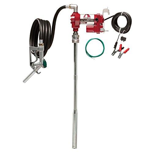 Alemite 3400 12-Volt DC 15 GPM Cast Iron Fuel Transfer Pump