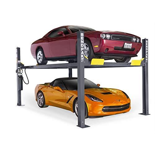 BendPak 4-Post Car Lift - 9000-Lb Capacity Gray Model Number HD-9