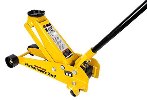 Performance Tool W1616 Rapid Lift Jack - 3 Ton Capacity