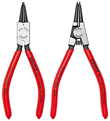 Knipex 9K 00 80 17 US Circlip Snap-Ring Pliers Set 2 Piece