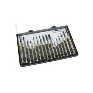 c2g 38014 16 piece jeweler screwdriver set