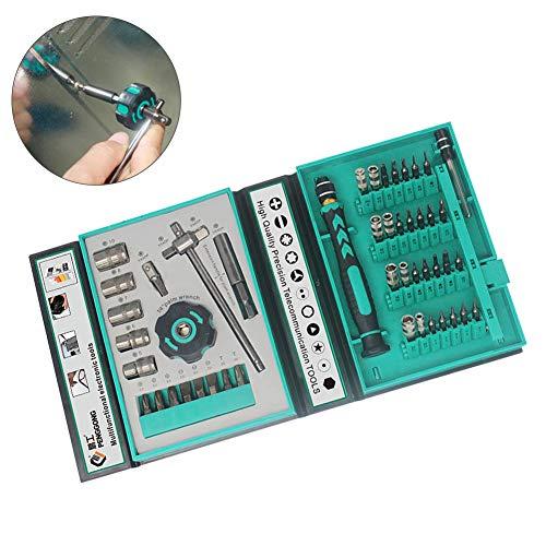 erDouckan Precision Screwdriver Kit Tool Sets  Perfect for Family Working  47Pcs PengGong Magnetic Precision Screwdriver Kit PC Phone Laptop Repair Tools - 47 PCS