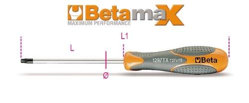 Beta 1297TXD6 Set of Screwdrivers for Torx Head Screws with Handles