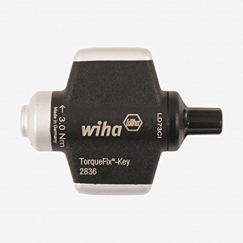 Wiha 28358 30 Nm 266 in-lbs TorqueFix Wing Screwdriver Handle