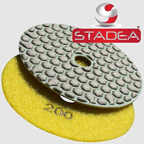 STADEA Diamond Polishing Pad 4 Dry Grit 200 For Stone Glass STADEA Standard A