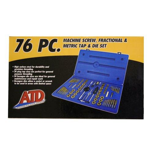 ATD-276 76PC METSAE TAP&DIE SET