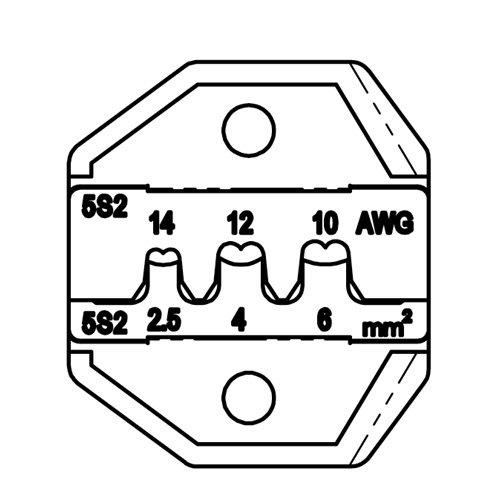 Lunar Series Die Set - MC4 Solar Panels