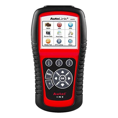 Autel AL619 Autolink EngineABSSRS Auto OBD2 Scanner Car Code Reader Automotive Diagnostic Tool