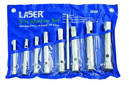 Laser - 2457 Box Spanner Set 8pack qty
