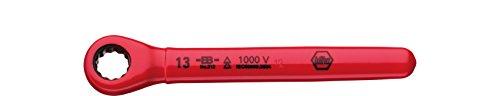Wiha 246133 5589N K7 Ratchet Box Spanner red 13mm