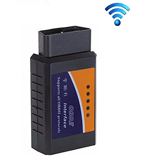 ELM 327 Wifi V15 OBD2 OBDII Car Diagnostic Scanner PIC18F25K80 Chip OBD 2 Auto Code Reader AndroidIOS Diagnostic-Tool - Support Android Smartphones iOS and PC