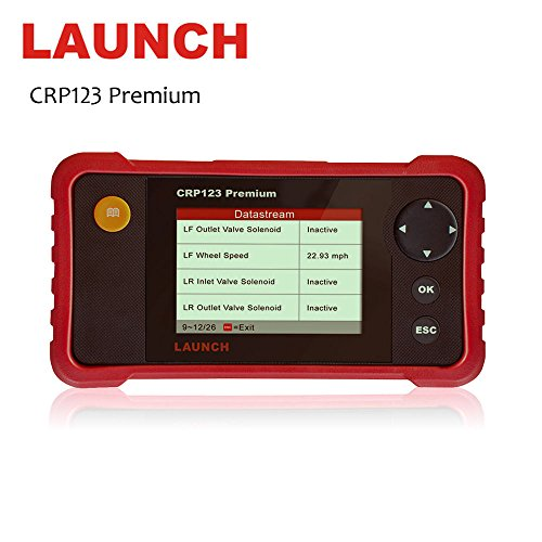 LAUNCH CRP123 Premium Scanner Launch CReader Professional 123P OBD2 Code Reader Scanner for Engine ABS SRS Transmission