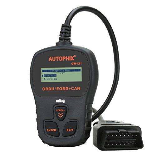 OBD2 Scanner Udiag OM121 Universal Car Engine Fault Code Reader Engine Scan Diagnostic Tool - Black