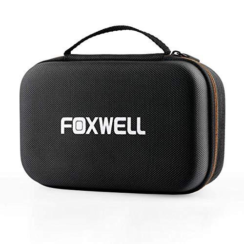 FOXWELL Original Protective Carring Storage Bag for NT201 NT200C AL319 OBD2 OBD II Automotive Code Reader Hard Case for OM126P OM126 NX501 Car Diagnostic Scan Tool
